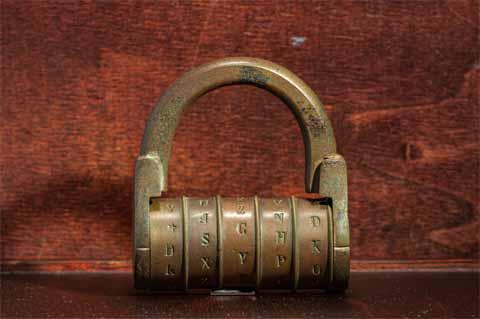 How to reset padlocks combination