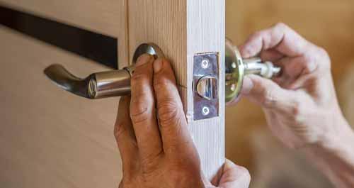 change the door locks