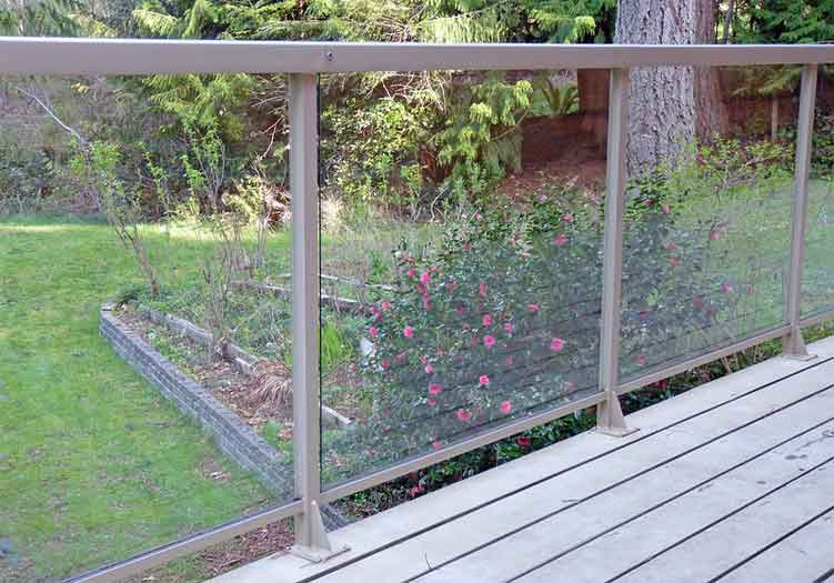 How to Keep Glass Railing Clean